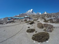Cafe at Everest Base Camp