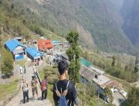 Chhomrong-Village-In-Annapurna-Base-Camp-Trek
