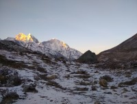 Sunrise at Everest region