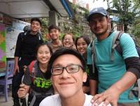 Trekkers-having-great-time-in-Ulleri-Annapurna-Trail