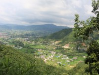 Bhaktapur from Ranikot hiking trail