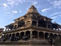 Krishna mandir in patan durbar suqre kathmandu city sightseeing tour