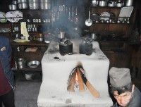 modern-kitchen-oven-at-langtang-tea-house