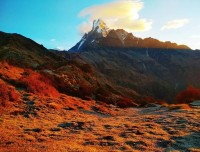 mt.fishtail from mardi himal