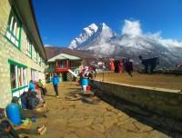tea house to experience heavenly Mountain