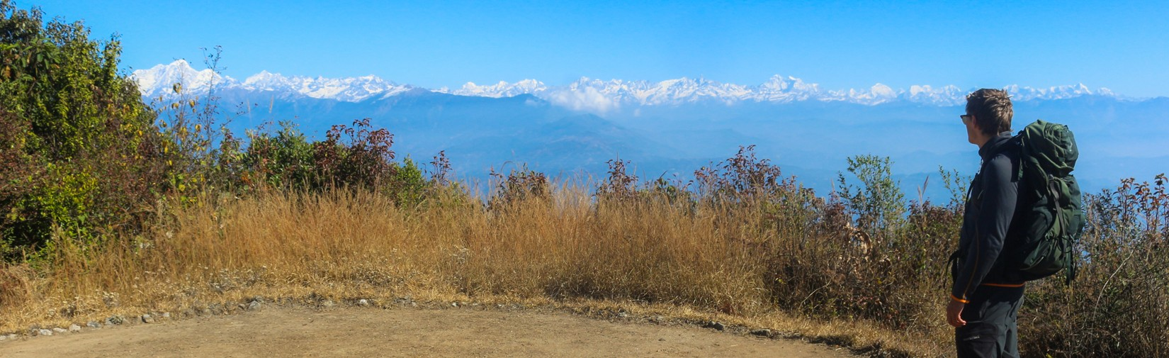 360 himalayanm mountain view from Nagarkot