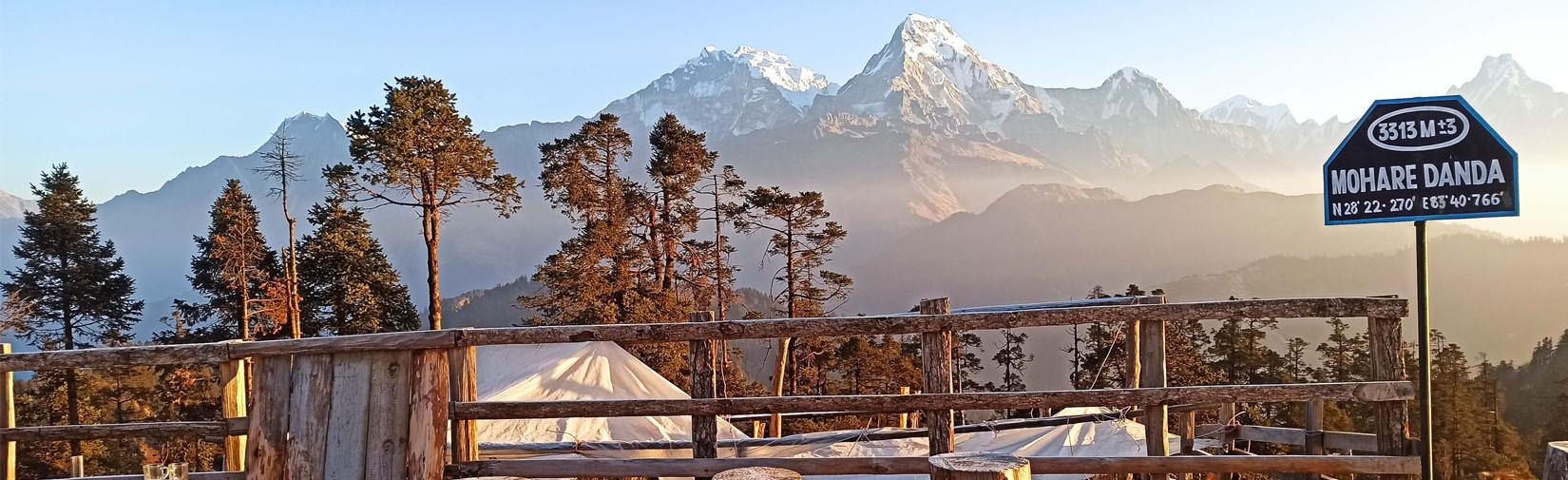 Best easy short trek for beginner in Nepal
