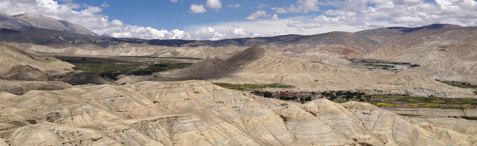 upper mustang landscape contrast