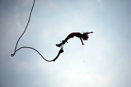 Bungee Jump in Pokhara